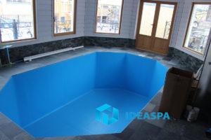 Скиммерный бассейн в поселке Репино