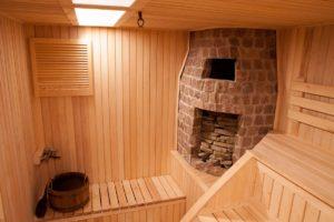 температура в парилке русской бани