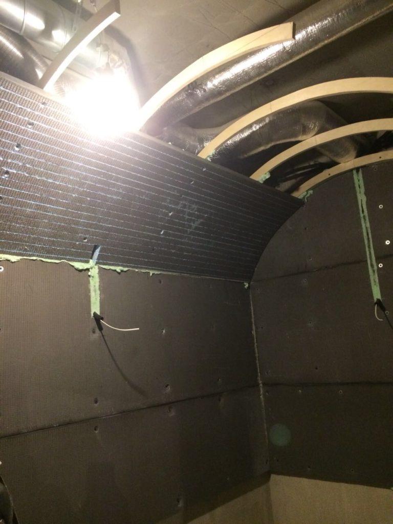 Строительство хамама из панелей