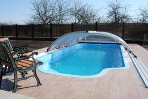 Стекловолоконный бассейн построить под ключ