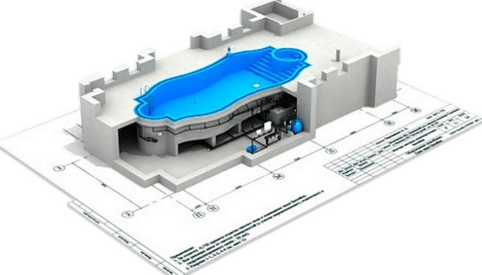 Проектирование детских бассейнов