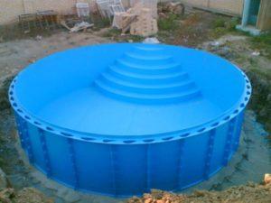 Чаша бассейна из полипропилена