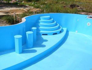 Бассейны из полипропилена