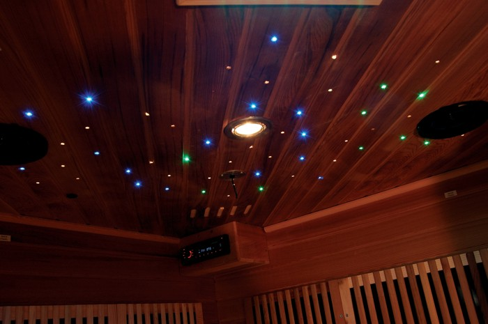 Звездное небо в сауне
