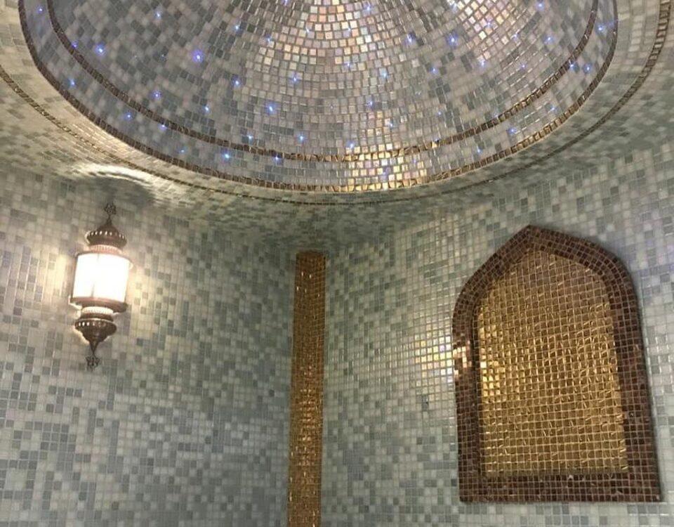 Строительство хамама в восточном стиле